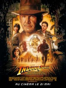 Affiche de Indiana Jones et le royaume du crane de cristal