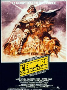 Affiche de L empire contre attaque