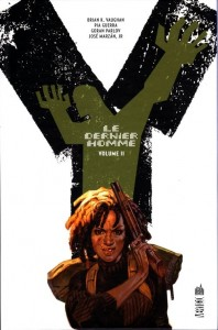 couverture de Y Le dernier homme tome 2 de Vaughan, Guerra, Parlov et Marzan