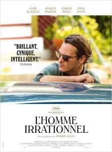 Affiche du film L homme irrationnel de Woody Allen