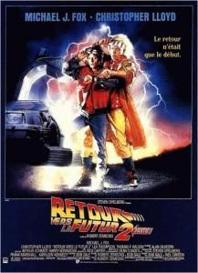 Affiche de Retour vers le futur 2 de Robert Zemeckis