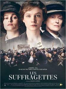 Affiche de Les suffragettes de Sarah Gavron