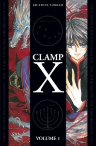 couverture de X tome 1 de Clamp