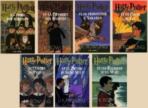 couverture des 7 tomes de harry potter de jk rowling
