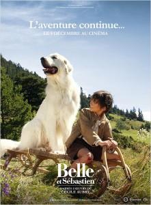 Affiche du film Belle et Sebastien l'aventure continue de Christian Duguay