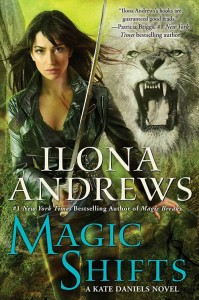couverture de magic shifts de ilona andrews