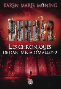 couverture de burned de karen marie moning aux editions j ai lu