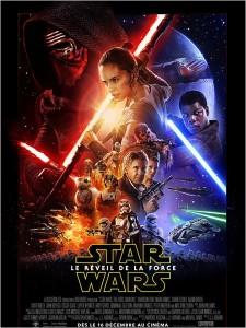 affiche du film Star Wars episode 7 de JJ Abrams