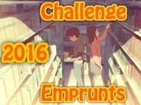 Challenge Emprunts de livres 2016