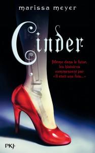 couverture de Cinder de Marissa Meyer