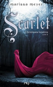 couverture de Scarlet de Marissa Meyer