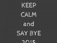 Adieu 2015 !