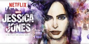 affiche de la seire marvel jessica jones