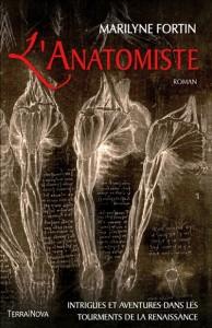 Couverture de L'anatomiste de Marilyne Fortin