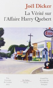 couverture de La vérité sur l'affaire Harry Quebert de Joel Dicker