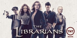 affiche de la serie the librarians