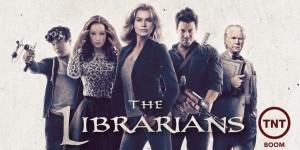 affiche de la serie the librarians