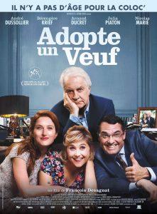 Affiche du film Adopte un veuf de Francois Desagnat