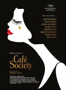 Affiche du film Café society de Woody Allen