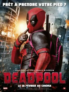 affiche du film Deadpool de Tim Miller