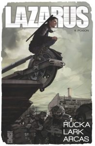 couverture de Lazarus tome 4 de Lark Rucka et Arcas