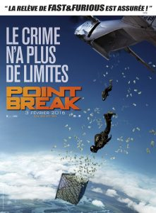 affiche du film Point break de Ericson Core