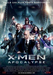 affiche de X-men Apocalypse de Bryan Singer