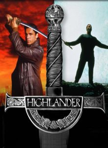 affiche de la série Highlander