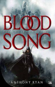 couverture de La voix du sang de Anthony Ryan