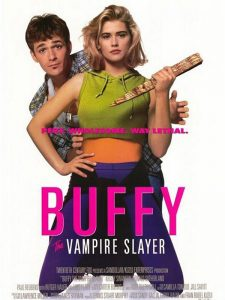 affiche du film Buffy the vampire slayer