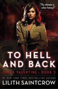 couverture de To hell and back de Lilith Saintcrow