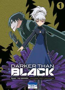 couverture de Darker than black t.1 de Yuji Iwahara