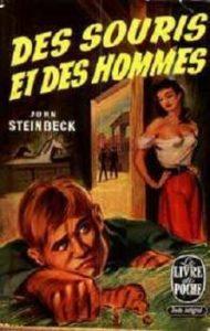 couverture de Des souris et des hommes de John Steinbeck