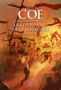 couverture de La couronne des 7 royaumes integrale 5 de David B Coe