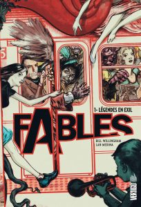 couverture du tome 1 de Fables (urban comics)