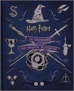 Couverture de Harry Potter, Le grimoire des objets magiques