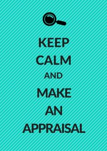 keep calm and make an appraisal