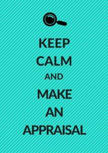 keep calm and make an appraisal