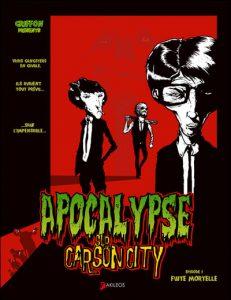couverture de Apocalypse sur carson city tome 1 de Julien Griffon