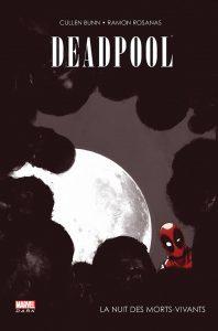 couverture de Deadpool, la nuit des morts-vivants