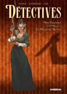 couverture de Detectives tome 1 de hanna et Guinebaud