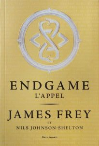 Couverture de Endgame de James Frey