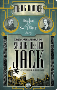couverture de L'étrange affaire de Spring Heeled Jack de Mark Hodder