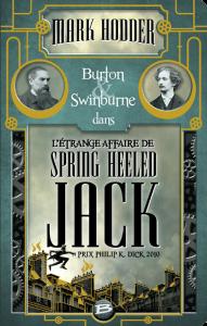 couverture de L'étrange affaire de Spring Heeled Jack de Mark Hodder