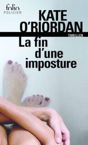 couverture de La fin d'une imposture de Kate O'Riordan