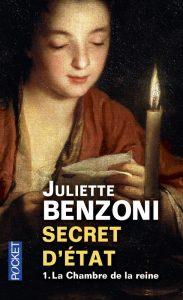 Couverture de Secret d'état de Juliette Benzoni
