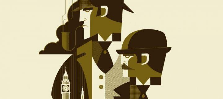 Le détective détraqué ou les mésaventures de Sherlock Holmes / Collectif