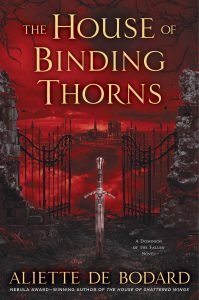 couverture de House of binding thorns de Aliette de Bodard