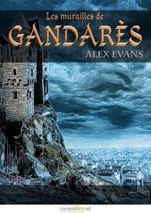 couverture de Les murailles de Gandares de Alex Evans