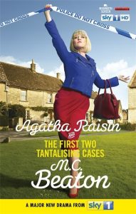 Couverture d'Agatha Raisin and the first two tantalising cases de M.C. Beaton